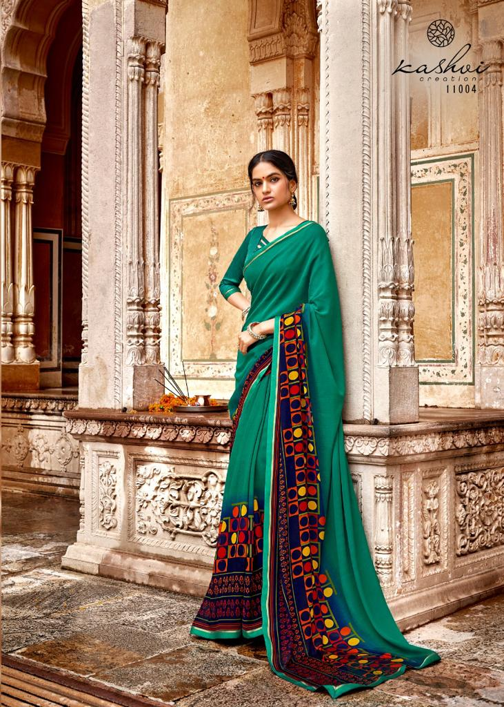 Kashvi Zara by Lt Fabrics Saree Sari Wholesale Catalog 10 Pcs 6 - Kashvi Zara by Lt Fabrics Saree Sari Wholesale Catalog 10 Pcs