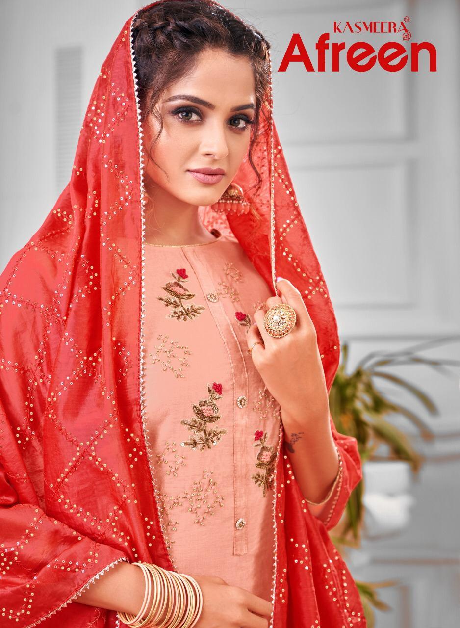 Kayce Kasmeera Afreen Salwar Suit Wholesale Catalog 8 Pcs 1 - Kayce Kasmeera Afreen Salwar Suit Wholesale Catalog 8 Pcs