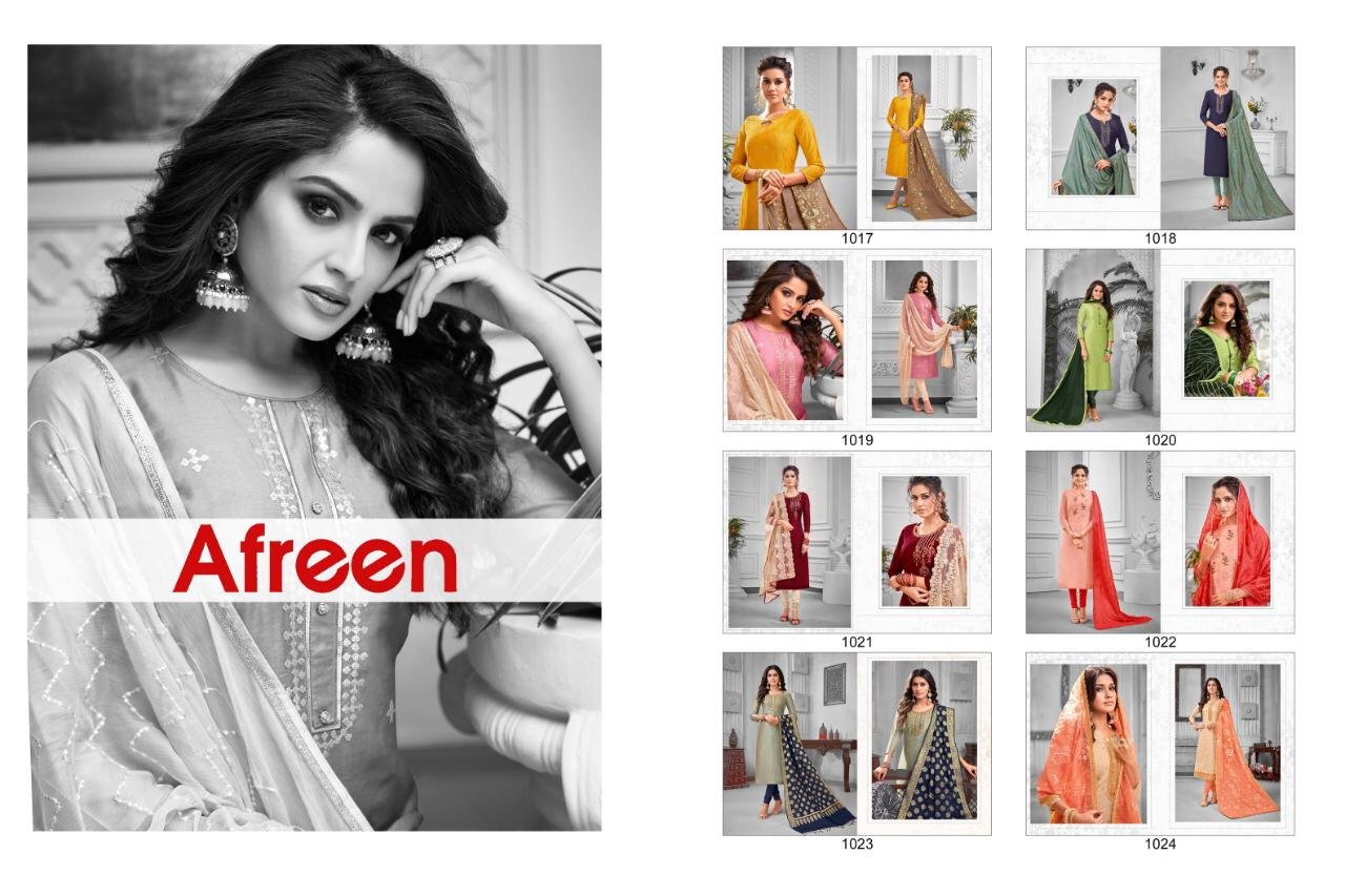 Kayce Kasmeera Afreen Salwar Suit Wholesale Catalog 8 Pcs 9 - Kayce Kasmeera Afreen Salwar Suit Wholesale Catalog 8 Pcs