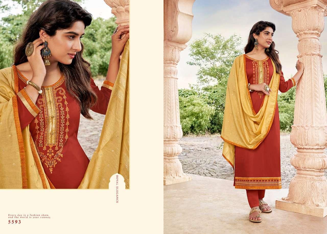 Kessi Sahenaj Salwar Suit Wholesale Catalog 8 Pcs 8 - Kessi Sahenaj Salwar Suit Wholesale Catalog 8 Pcs