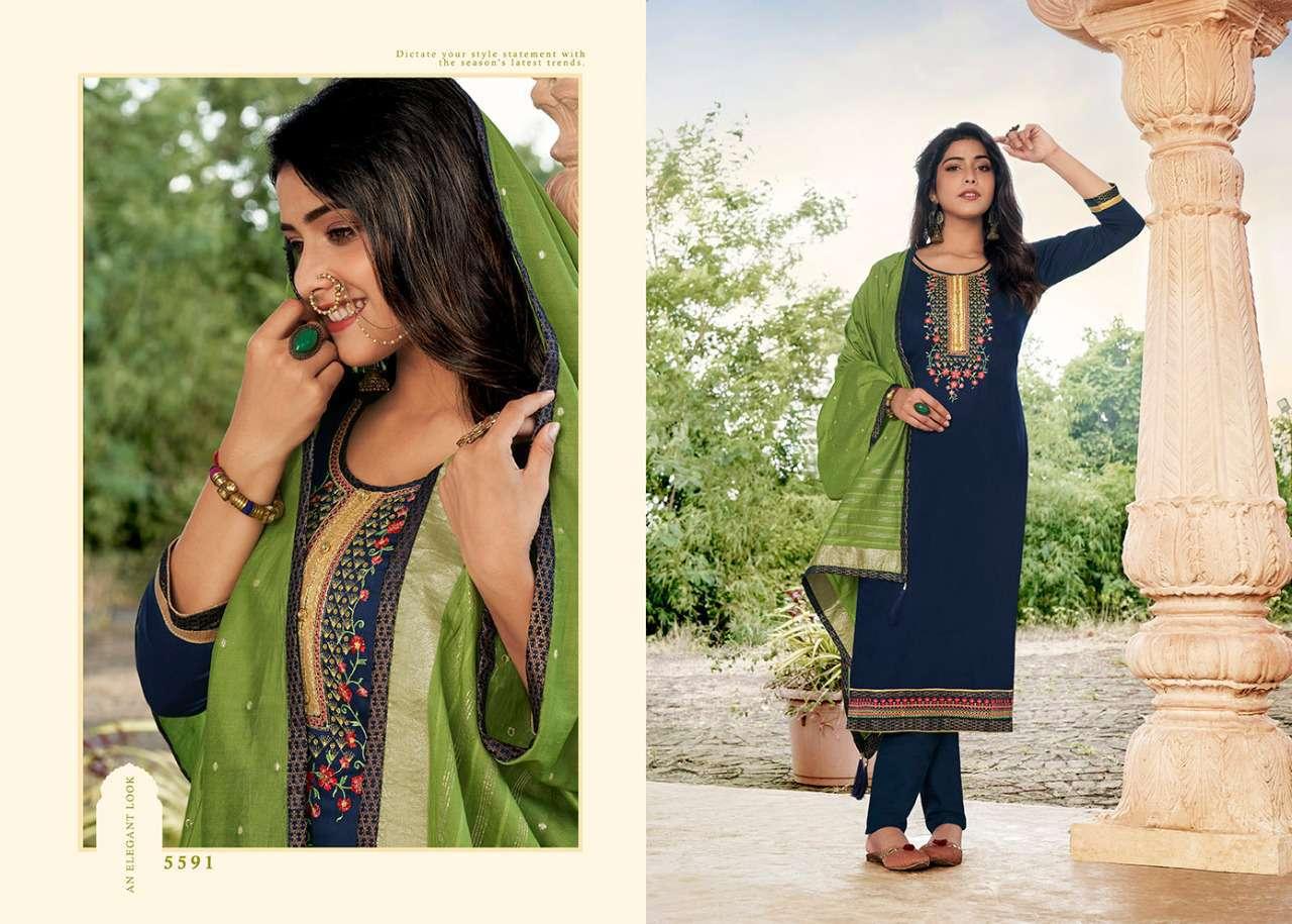 Kessi Sahenaj Salwar Suit Wholesale Catalog 8 Pcs 9 - Kessi Sahenaj Salwar Suit Wholesale Catalog 8 Pcs