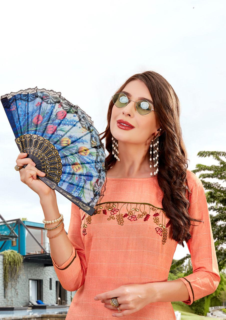 Ladies Flavour Lilly Kurti with Palazzo Wholesale Catalog 8 Pcs 10 - Ladies Flavour Lilly Kurti with Palazzo Wholesale Catalog 8 Pcs