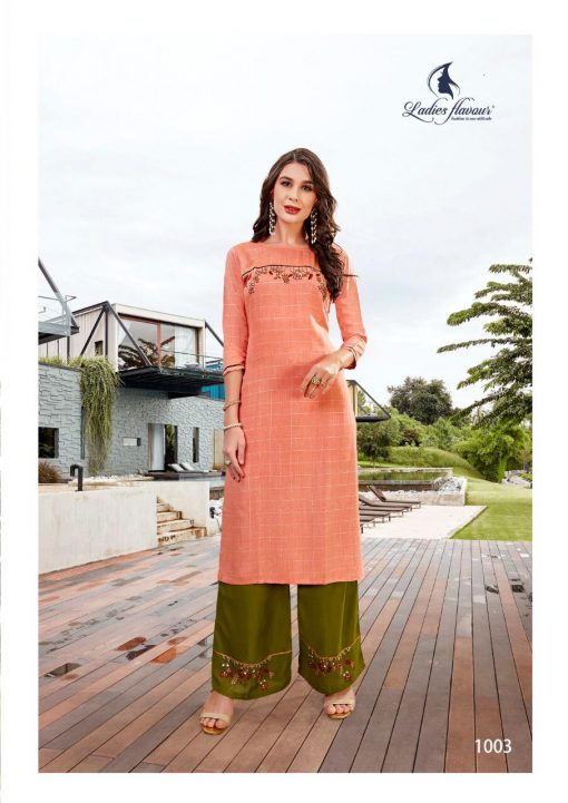 Ladies Flavour Lilly Kurti with Palazzo Wholesale Catalog 8 Pcs 11 510x721 - Ladies Flavour Lilly Kurti with Palazzo Wholesale Catalog 8 Pcs