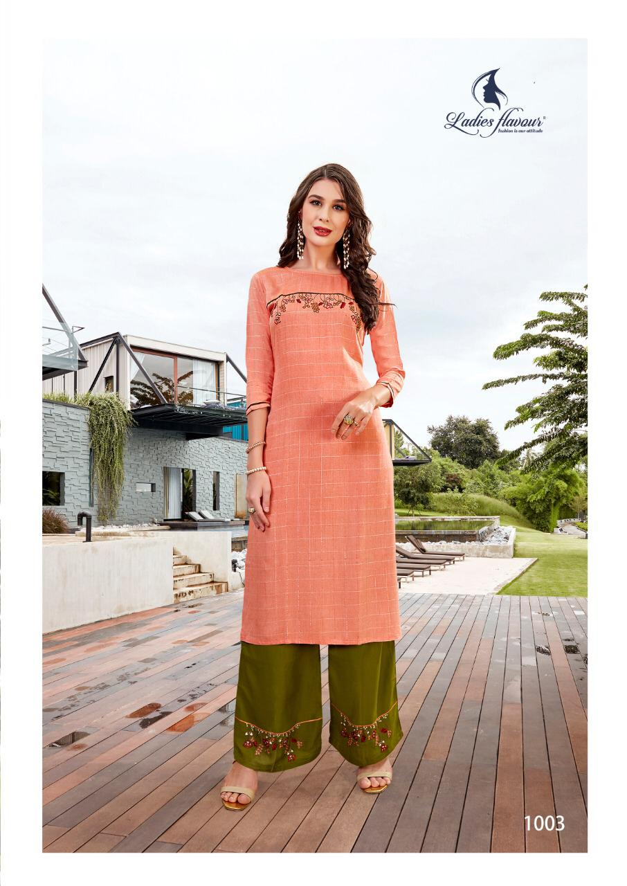 Ladies Flavour Lilly Kurti with Palazzo Wholesale Catalog 8 Pcs 11 - Ladies Flavour Lilly Kurti with Palazzo Wholesale Catalog 8 Pcs