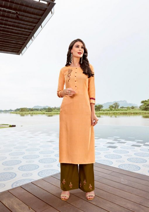 Ladies Flavour Lilly Kurti with Palazzo Wholesale Catalog 8 Pcs 15 510x721 - Ladies Flavour Lilly Kurti with Palazzo Wholesale Catalog 8 Pcs