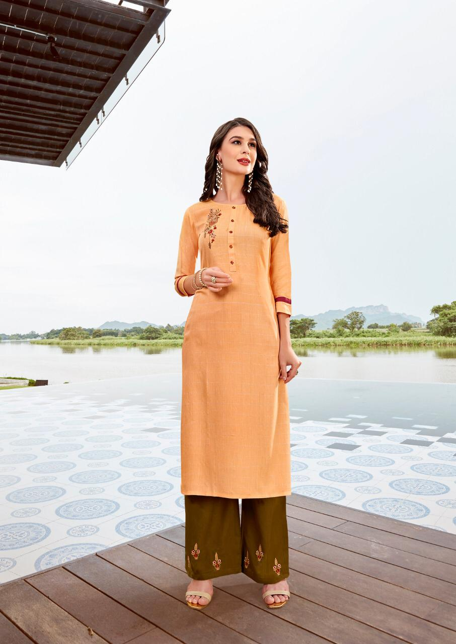Ladies Flavour Lilly Kurti with Palazzo Wholesale Catalog 8 Pcs 15 - Ladies Flavour Lilly Kurti with Palazzo Wholesale Catalog 8 Pcs