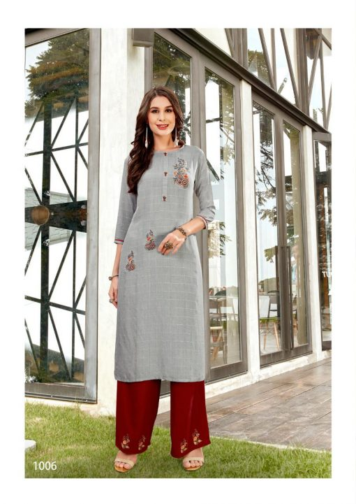 Ladies Flavour Lilly Kurti with Palazzo Wholesale Catalog 8 Pcs 17 510x721 - Ladies Flavour Lilly Kurti with Palazzo Wholesale Catalog 8 Pcs