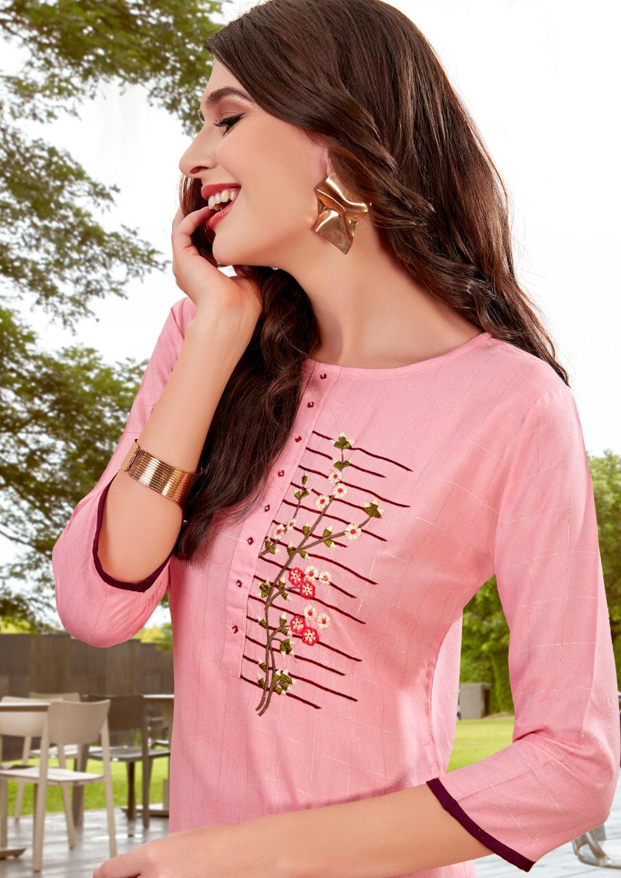 Ladies Flavour Lilly Kurti with Palazzo Wholesale Catalog 8 Pcs 18 - Ladies Flavour Lilly Kurti with Palazzo Wholesale Catalog 8 Pcs