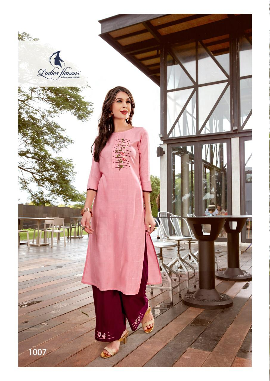 Ladies Flavour Lilly Kurti with Palazzo Wholesale Catalog 8 Pcs 19 - Ladies Flavour Lilly Kurti with Palazzo Wholesale Catalog 8 Pcs