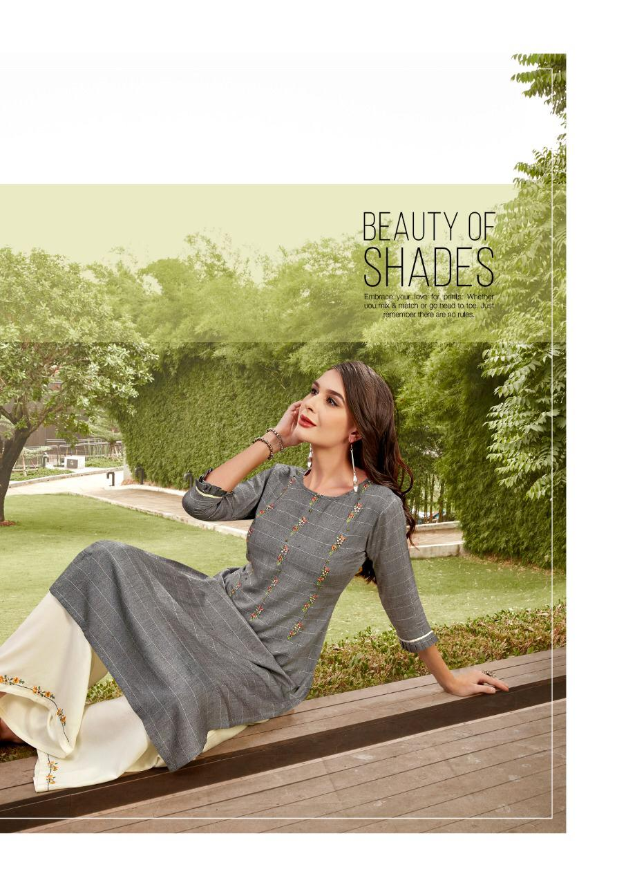 Ladies Flavour Lilly Kurti with Palazzo Wholesale Catalog 8 Pcs 20 - Ladies Flavour Lilly Kurti with Palazzo Wholesale Catalog 8 Pcs