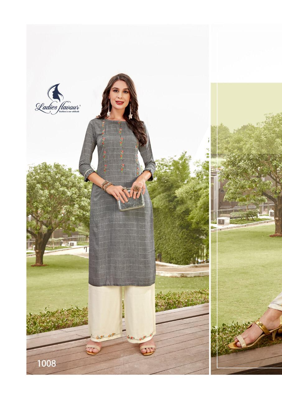 Ladies Flavour Lilly Kurti with Palazzo Wholesale Catalog 8 Pcs 21 - Ladies Flavour Lilly Kurti with Palazzo Wholesale Catalog 8 Pcs