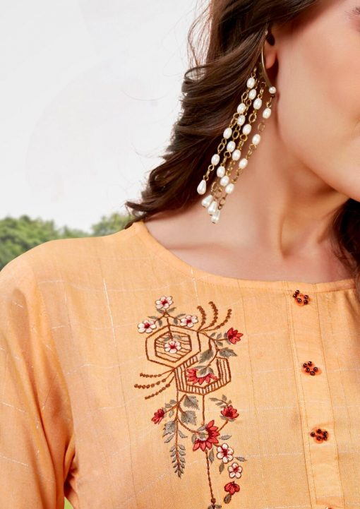 Ladies Flavour Lilly Kurti with Palazzo Wholesale Catalog 8 Pcs 3 510x721 - Ladies Flavour Lilly Kurti with Palazzo Wholesale Catalog 8 Pcs