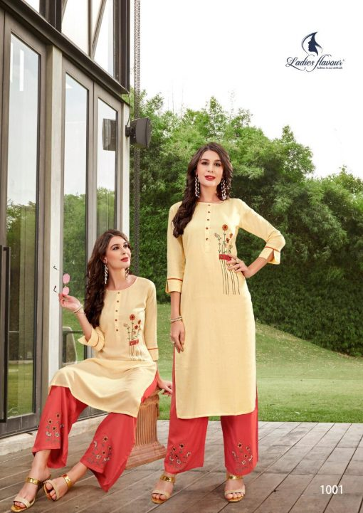 Ladies Flavour Lilly Kurti with Palazzo Wholesale Catalog 8 Pcs 5 510x721 - Ladies Flavour Lilly Kurti with Palazzo Wholesale Catalog 8 Pcs