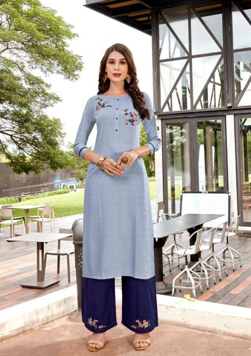 Ladies Flavour Lilly Kurti with Palazzo Wholesale Catalog 8 Pcs 9 510x721 - Ladies Flavour Lilly Kurti with Palazzo Wholesale Catalog 8 Pcs