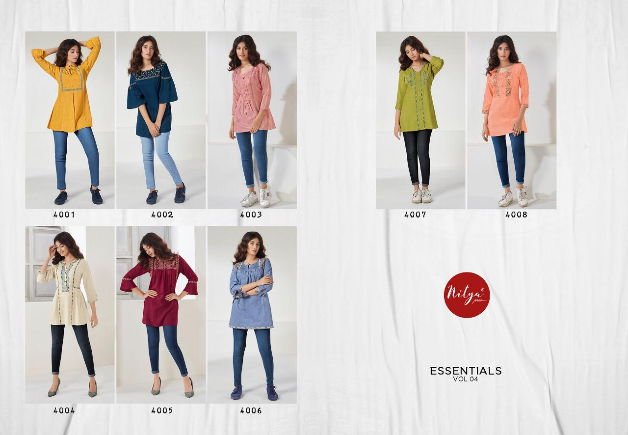 Lt Fabrics Nitya Essentials Vol 4 Tops Wholesale Catalog 8 Pcs 16 - Lt Fabrics Nitya Essentials Vol 4 Tops Wholesale Catalog 8 Pcs