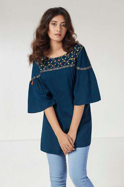 Lt Fabrics Nitya Essentials Vol 4 Tops Wholesale Catalog 8 Pcs