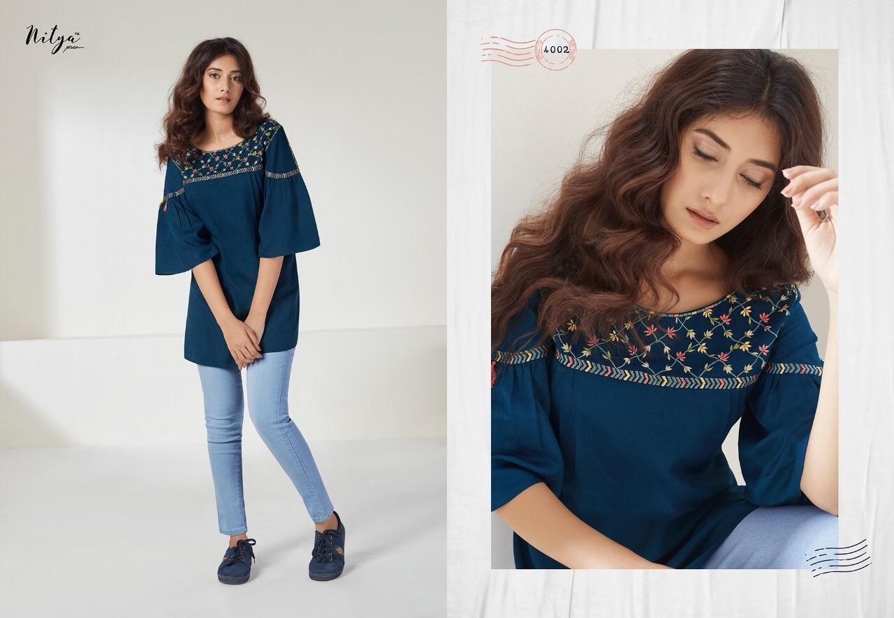 Lt Fabrics Nitya Essentials Vol 4 Tops Wholesale Catalog 8 Pcs 5 - Lt Fabrics Nitya Essentials Vol 4 Tops Wholesale Catalog 8 Pcs