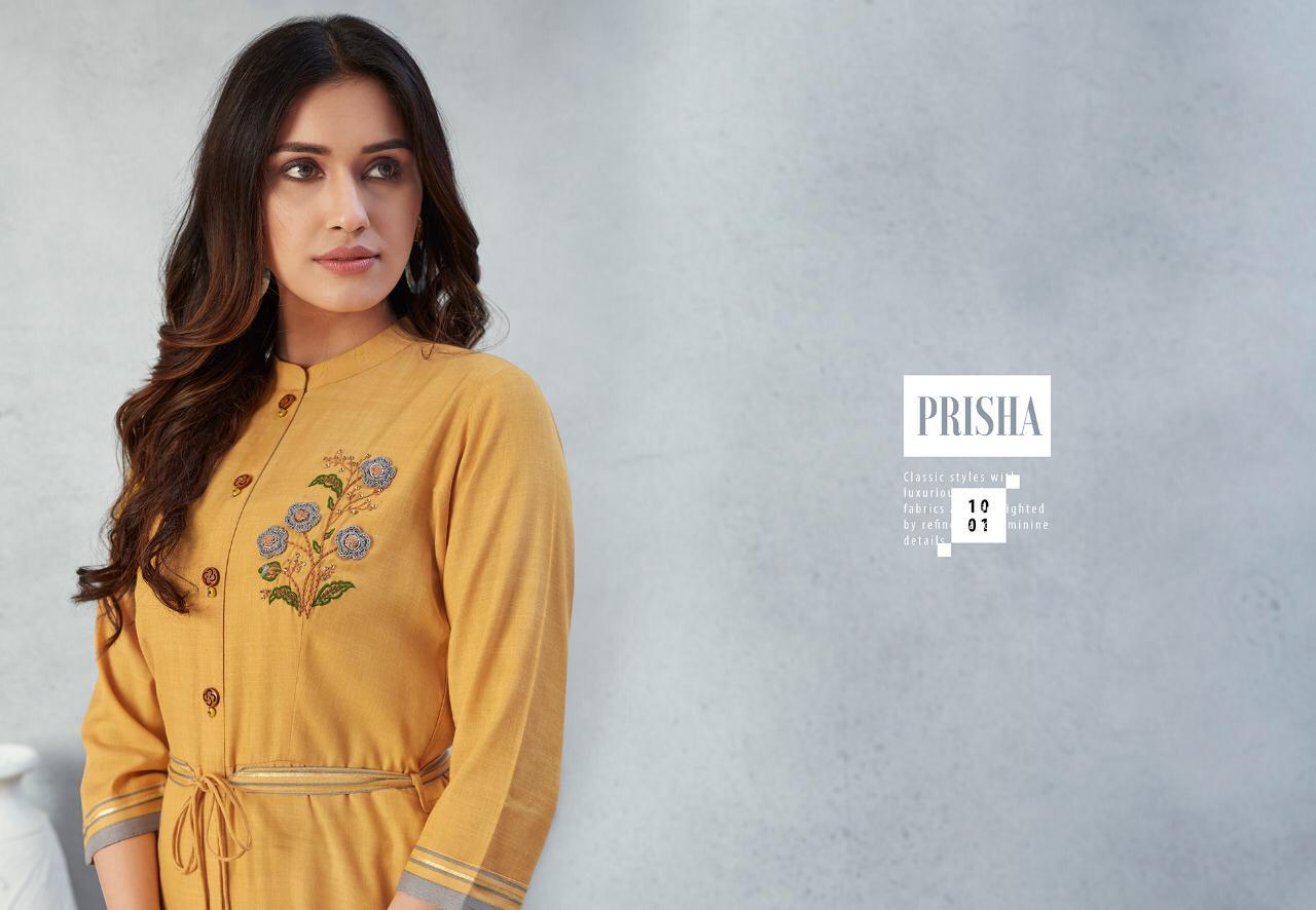 Lt Fabrics Nitya Prisha Kurti Wholesale Catalog 6 Pcs 1 - Lt Fabrics Nitya Prisha Kurti Wholesale Catalog 6 Pcs