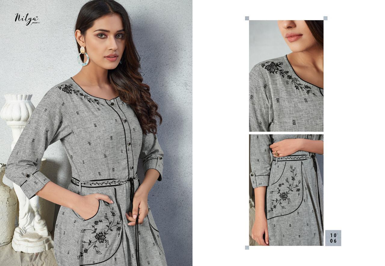 Lt Fabrics Nitya Prisha Kurti Wholesale Catalog 6 Pcs 11 - Lt Fabrics Nitya Prisha Kurti Wholesale Catalog 6 Pcs