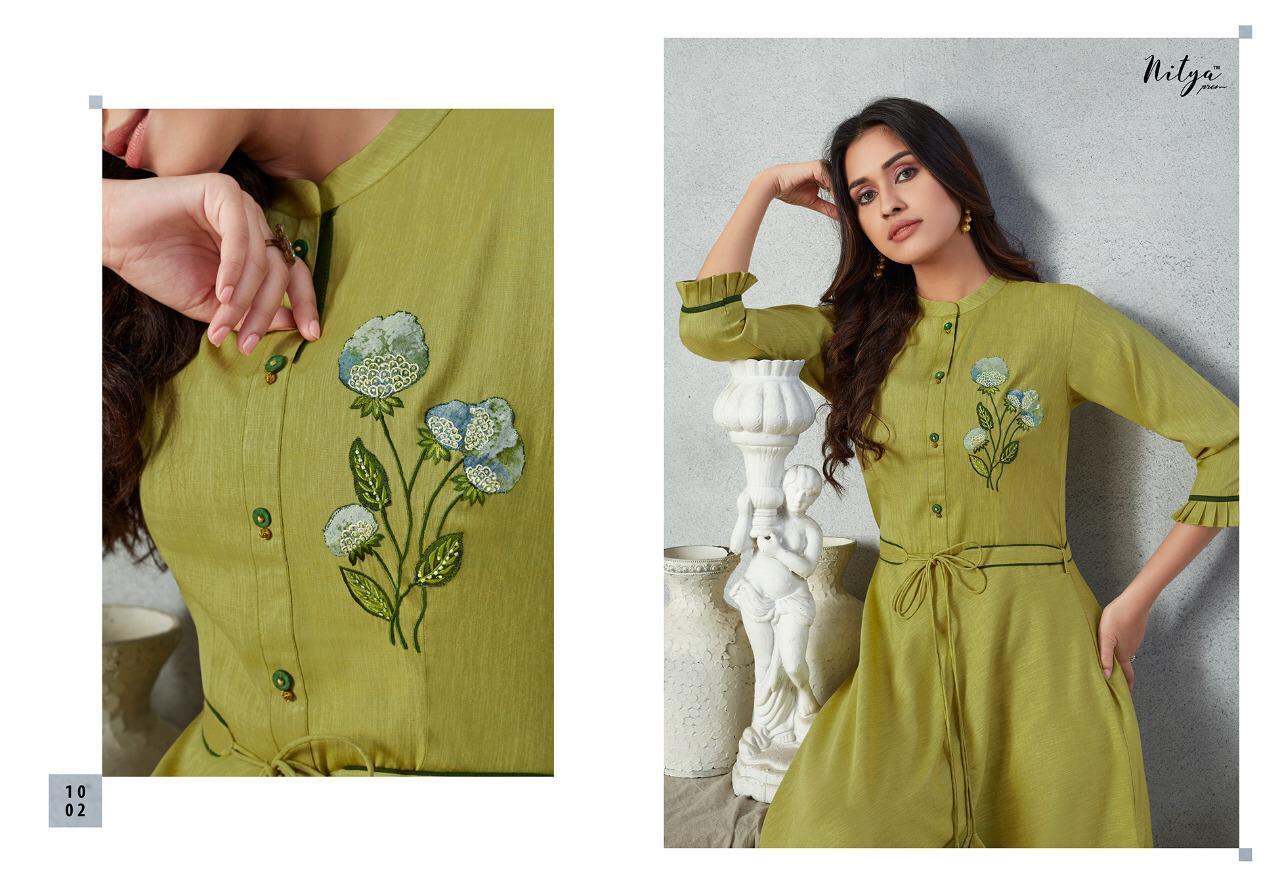Lt Fabrics Nitya Prisha Kurti Wholesale Catalog 6 Pcs 3 - Lt Fabrics Nitya Prisha Kurti Wholesale Catalog 6 Pcs