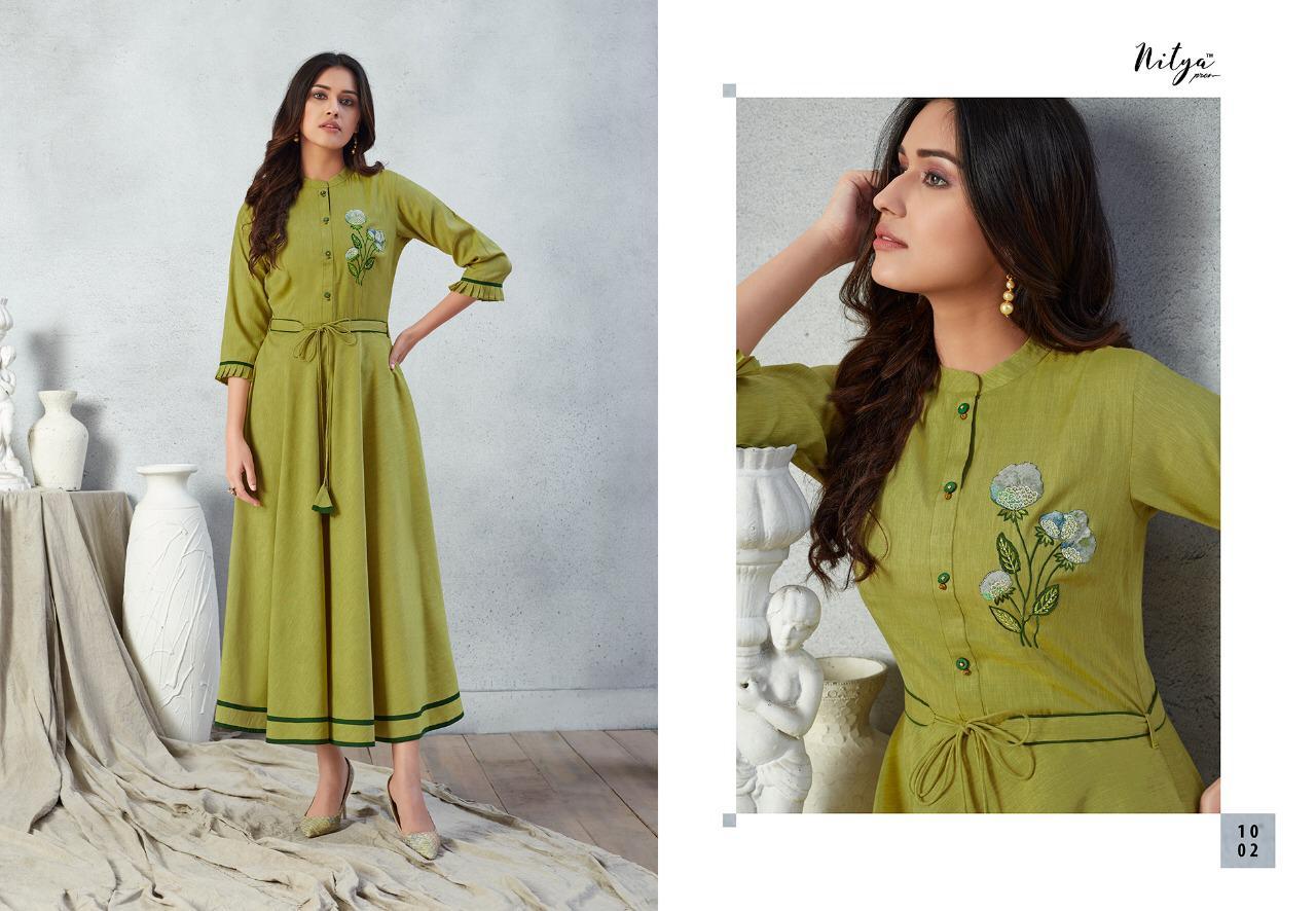 Lt Fabrics Nitya Prisha Kurti Wholesale Catalog 6 Pcs 4 - Lt Fabrics Nitya Prisha Kurti Wholesale Catalog 6 Pcs