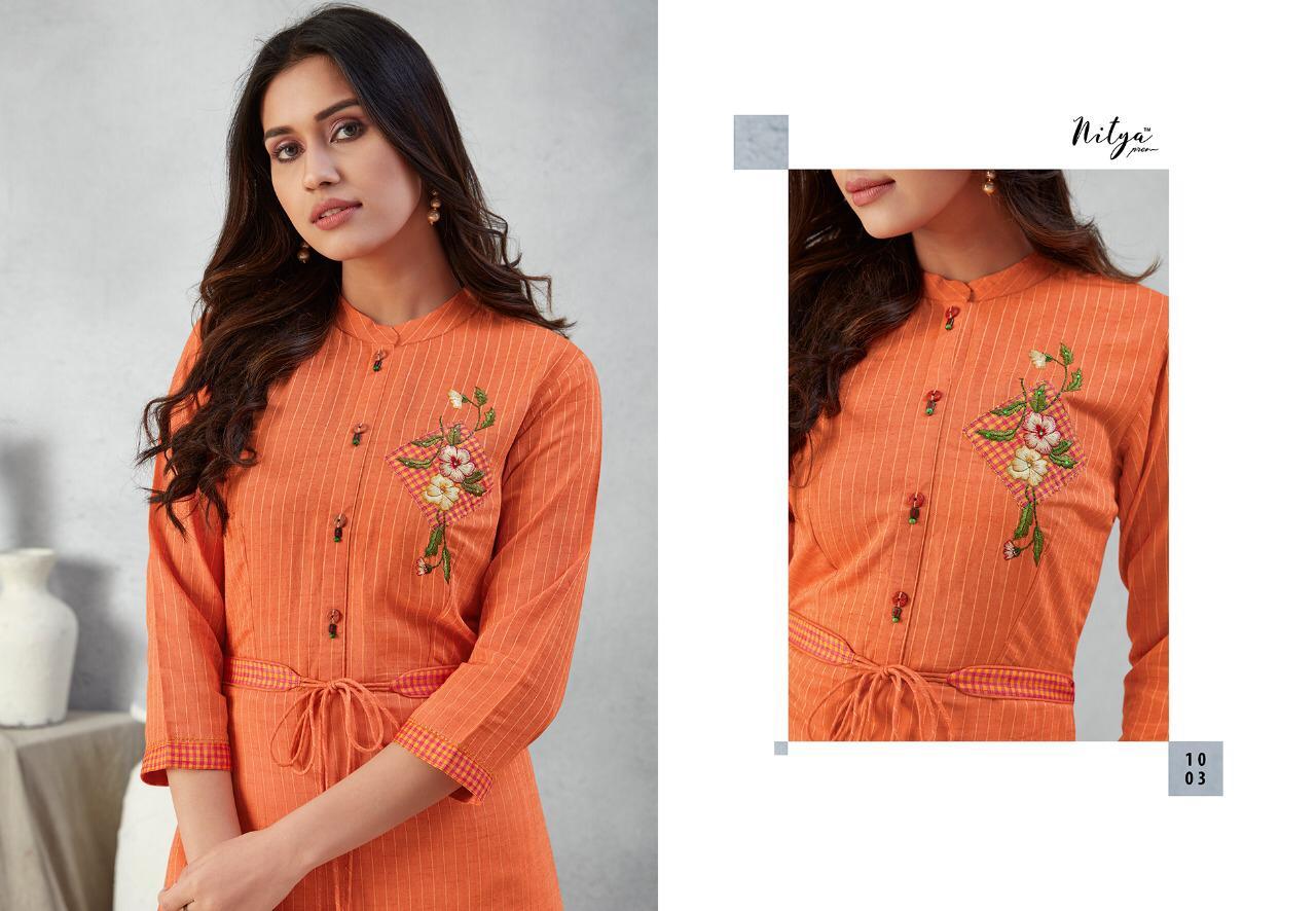 Lt Fabrics Nitya Prisha Kurti Wholesale Catalog 6 Pcs 5 - Lt Fabrics Nitya Prisha Kurti Wholesale Catalog 6 Pcs