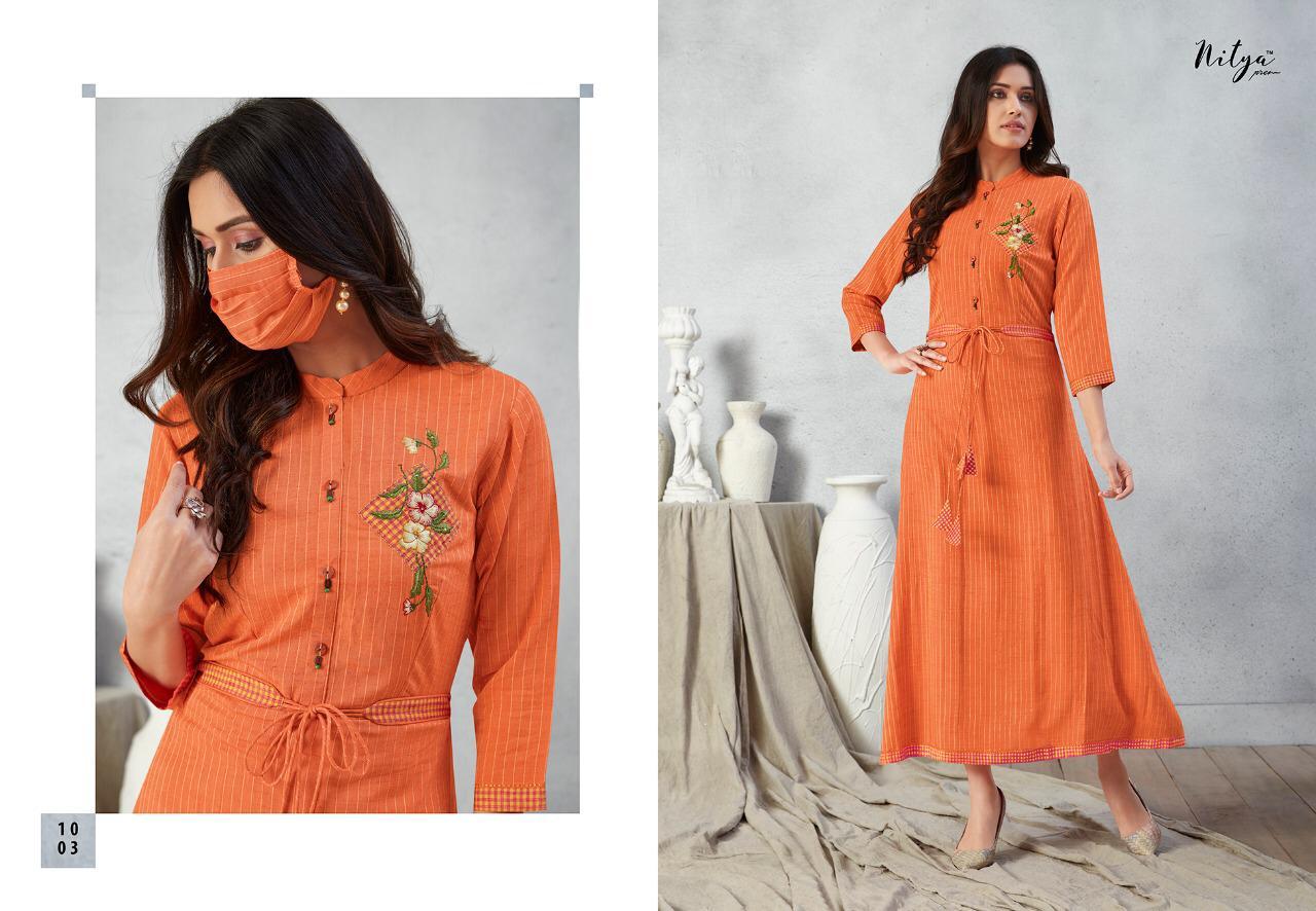 Lt Fabrics Nitya Prisha Kurti Wholesale Catalog 6 Pcs 6 - Lt Fabrics Nitya Prisha Kurti Wholesale Catalog 6 Pcs