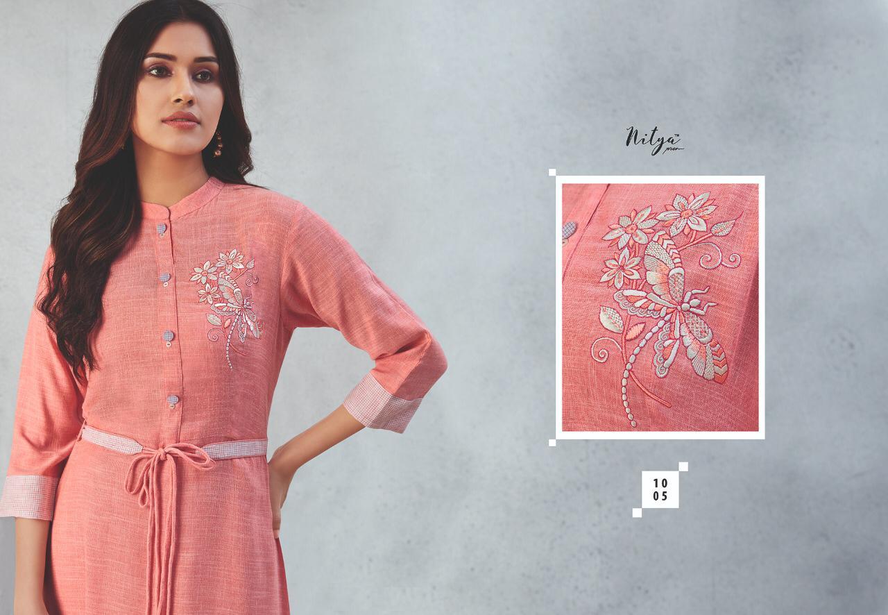 Lt Fabrics Nitya Prisha Kurti Wholesale Catalog 6 Pcs 9 - Lt Fabrics Nitya Prisha Kurti Wholesale Catalog 6 Pcs