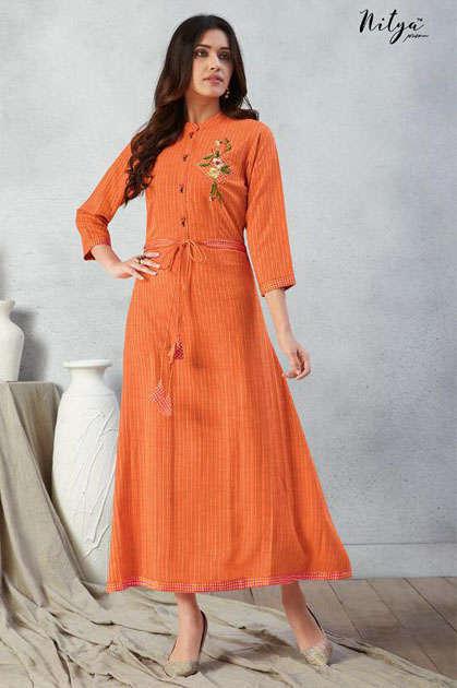 Lt Fabrics Nitya Prisha Kurti Wholesale Catalog 6 Pcs - Lt Fabrics Nitya Prisha Kurti Wholesale Catalog 6 Pcs