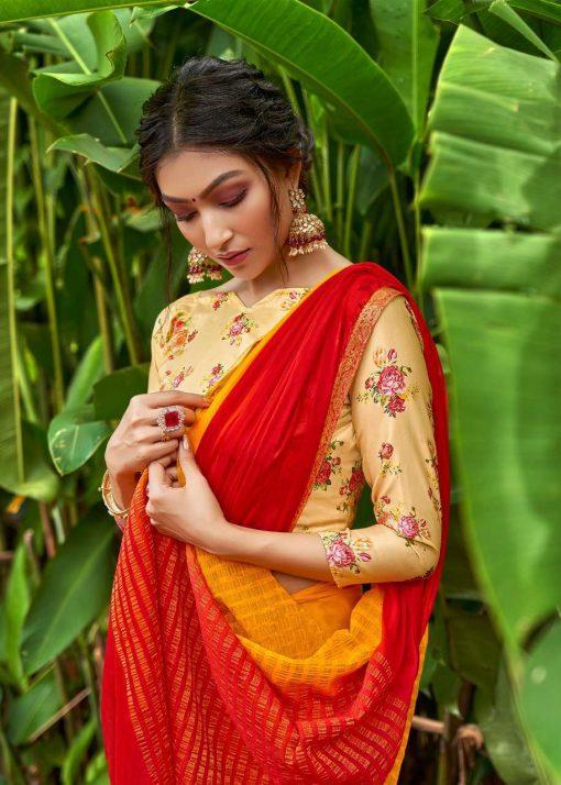 Lt Fabrics Satrupa Double Blouse Saree Sari Wholesale Catalog 10 Pcs 11 510x714 - Lt Fabrics Satrupa Double Blouse Saree Sari Wholesale Catalog 10 Pcs