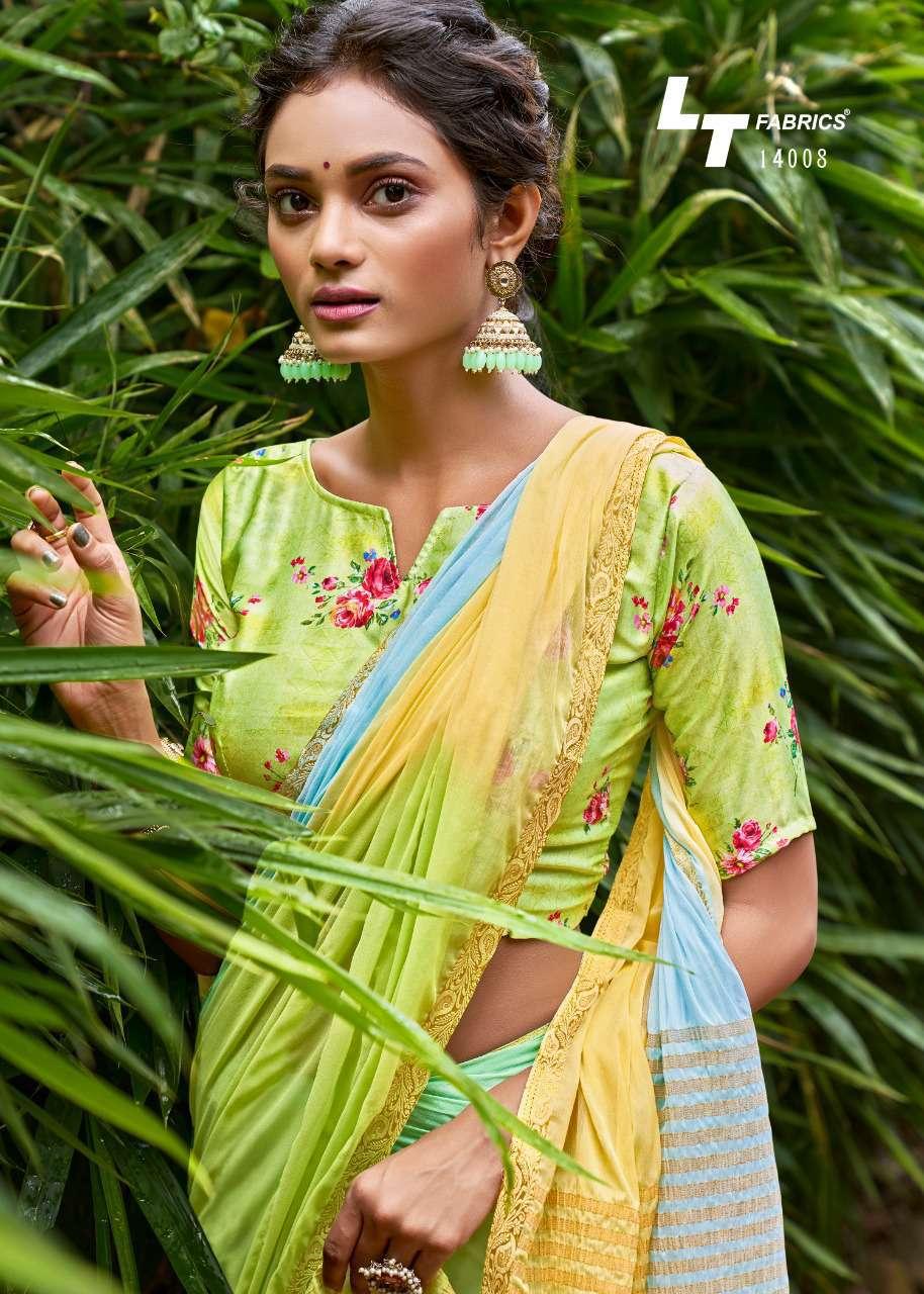 Lt Fabrics Satrupa Double Blouse Saree Sari Wholesale Catalog 10 Pcs 13 - Lt Fabrics Satrupa Double Blouse Saree Sari Wholesale Catalog 10 Pcs