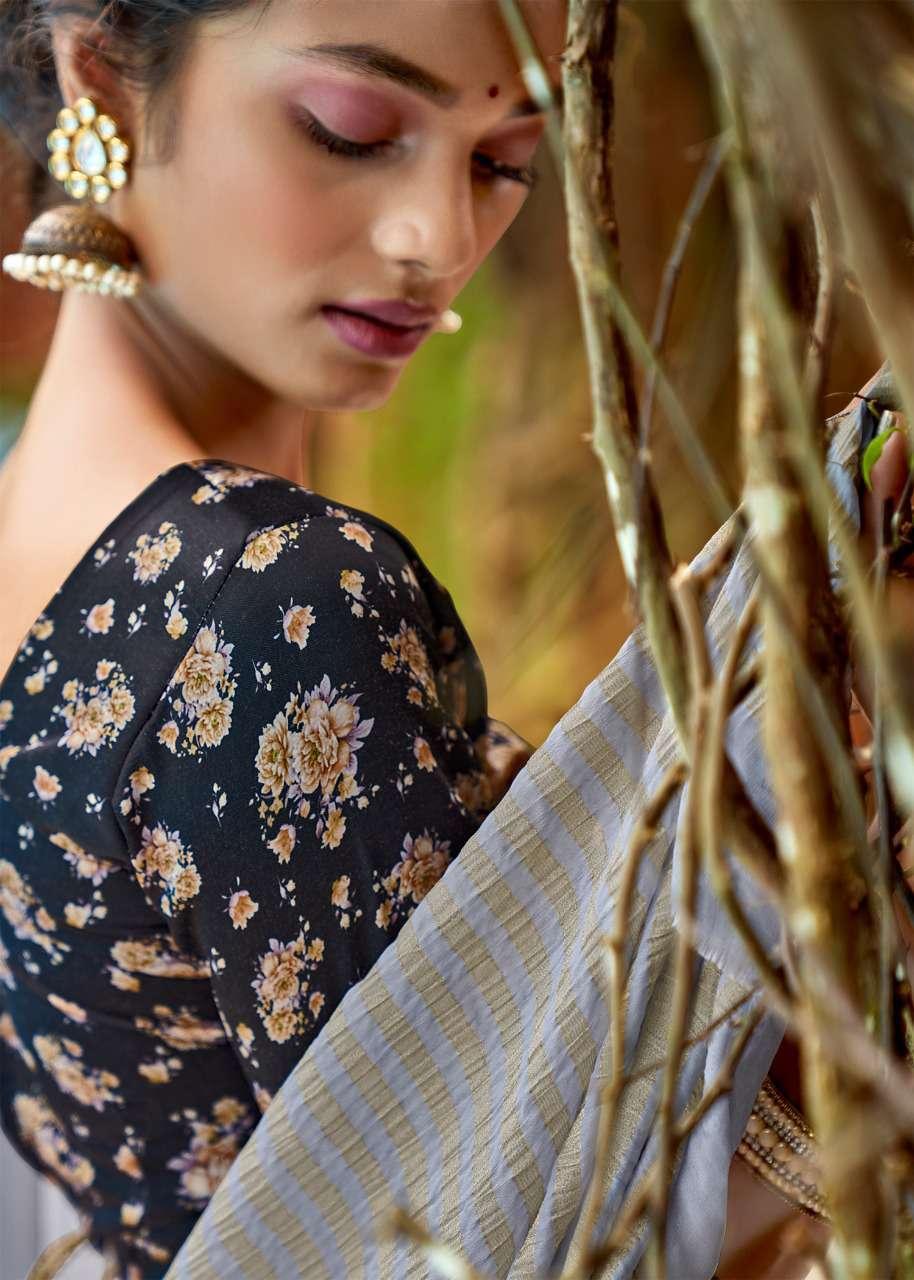 Lt Fabrics Satrupa Double Blouse Saree Sari Wholesale Catalog 10 Pcs 2 - Lt Fabrics Satrupa Double Blouse Saree Sari Wholesale Catalog 10 Pcs
