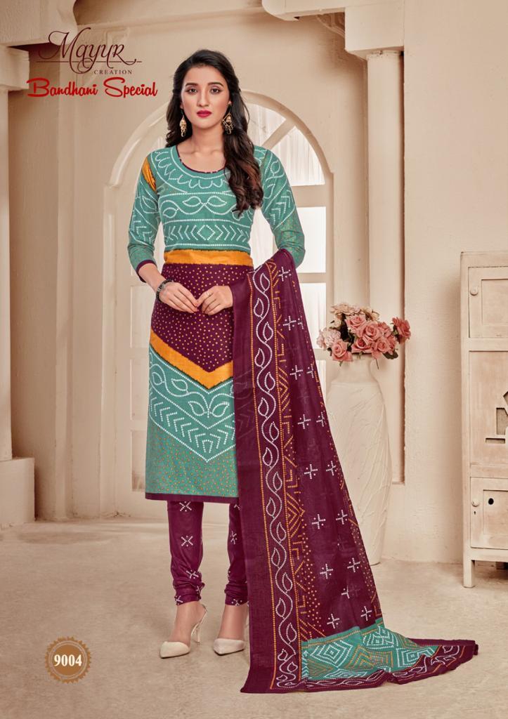 Mayur Bandhani Special Vol 9 Salwar Suit Wholesale Catalog 12 Pcs 5 - Mayur Bandhani Special Vol 9 Salwar Suit Wholesale Catalog 12 Pcs