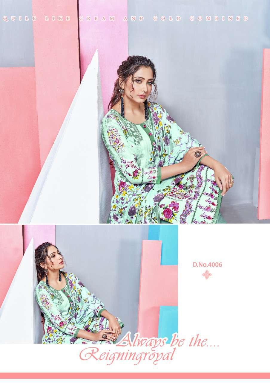 Mishri Lawn Cotton Vol 4 Premium Karachi Salwar Suit Wholesale Catalog 10 Pcs 10 - Mishri Lawn Cotton Vol 4 Premium Karachi Salwar Suit Wholesale Catalog 10 Pcs