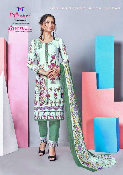 Mishri Lawn Cotton Vol 4 Premium Karachi Salwar Suit Wholesale Catalog 10 Pcs 20 510x722 - Mishri Lawn Cotton Vol 4 Premium Karachi Salwar Suit Wholesale Catalog 10 Pcs