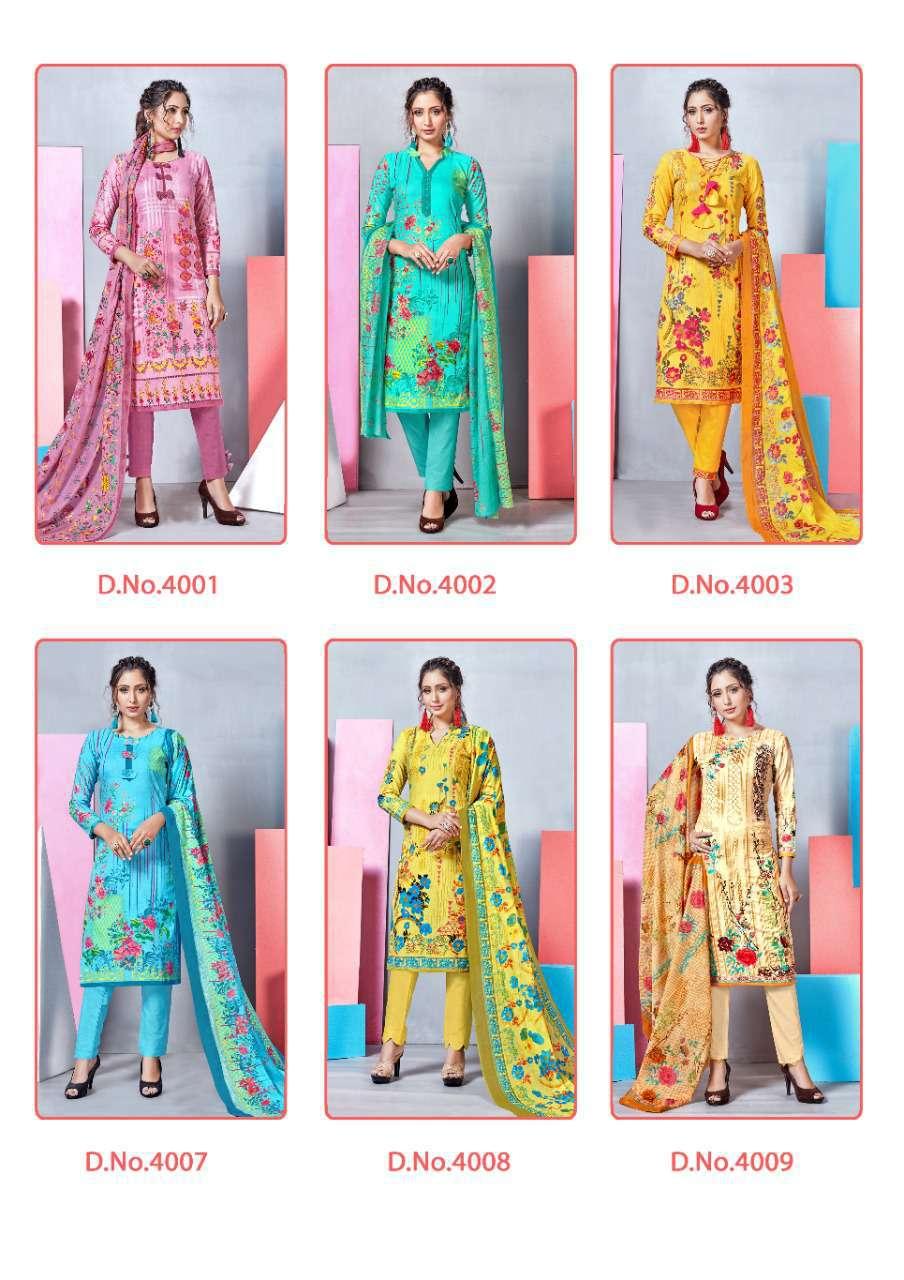 Mishri Lawn Cotton Vol 4 Premium Karachi Salwar Suit Wholesale Catalog 10 Pcs 22 - Mishri Lawn Cotton Vol 4 Premium Karachi Salwar Suit Wholesale Catalog 10 Pcs