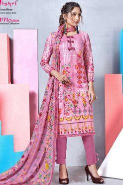Mishri Lawn Cotton Vol 4 Premium Karachi Salwar Suit Wholesale Catalog 10 Pcs