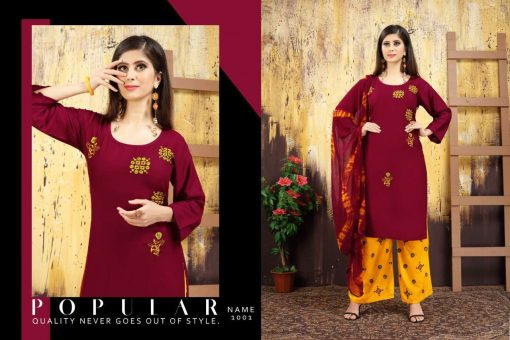Nayra Kurti with Dupatta Bottom Wholesale Catalog 6 Pcs 1 510x340 - Nayra Kurti with Dupatta Bottom Wholesale Catalog 6 Pcs