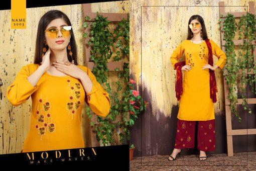 Nayra Kurti with Dupatta Bottom Wholesale Catalog 6 Pcs 4 510x340 - Nayra Kurti with Dupatta Bottom Wholesale Catalog 6 Pcs