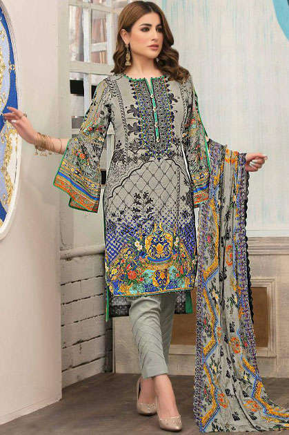 Orient Luxury Print 2020 Salwar Suit Wholesale Catalog 10 Pcs