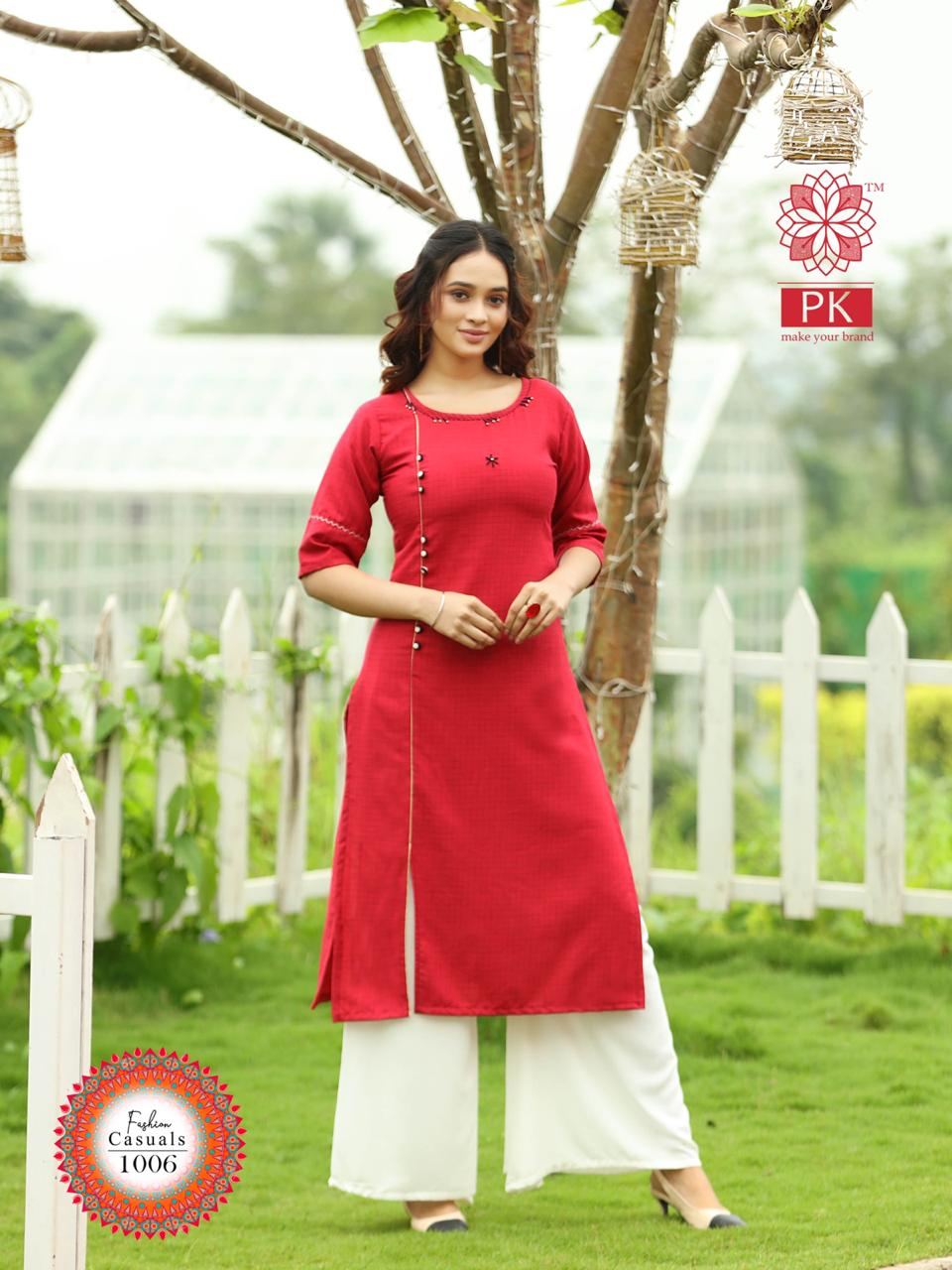 Pk Fashion Casuals Vol 1 Kurti Wholesale Catalog 6 Pcs 11 - Pk Fashion Casuals Vol 1 Kurti Wholesale Catalog 6 Pcs
