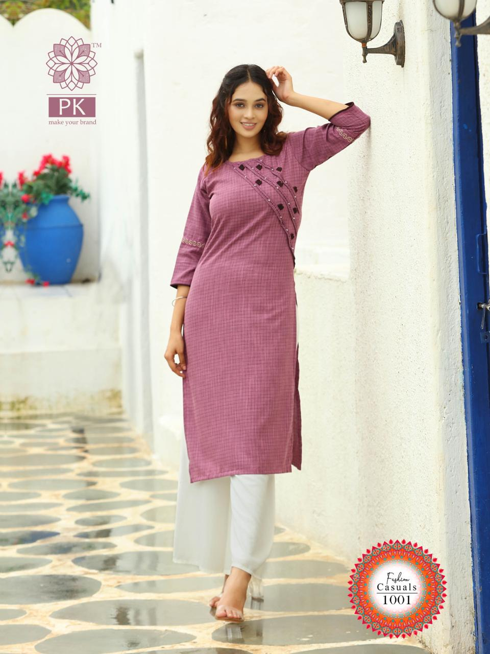 Pk Fashion Casuals Vol 1 Kurti Wholesale Catalog 6 Pcs 13 - Pk Fashion Casuals Vol 1 Kurti Wholesale Catalog 6 Pcs