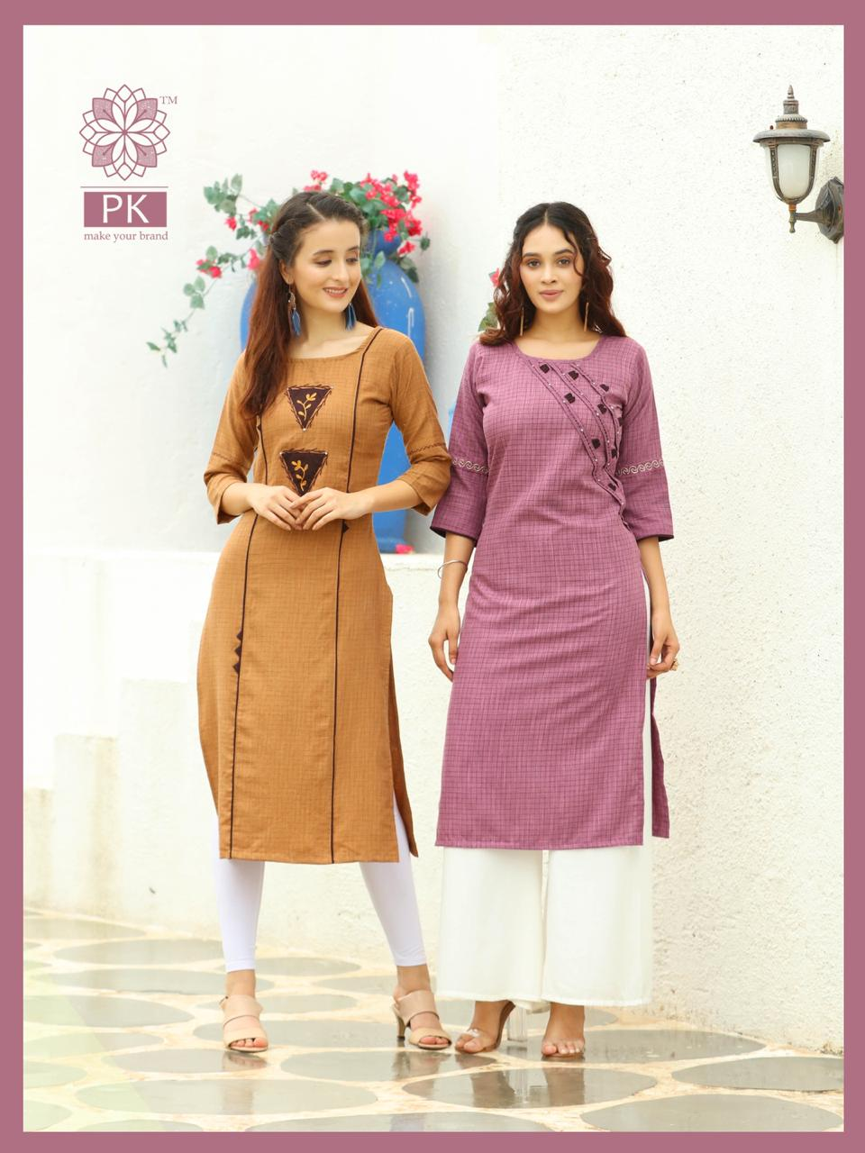 Pk Fashion Casuals Vol 1 Kurti Wholesale Catalog 6 Pcs 4 - Pk Fashion Casuals Vol 1 Kurti Wholesale Catalog 6 Pcs