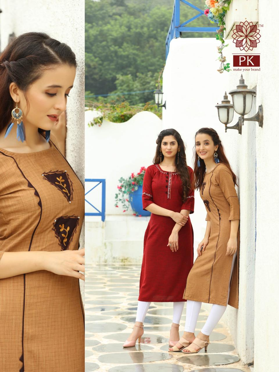 Pk Fashion Casuals Vol 1 Kurti Wholesale Catalog 6 Pcs 5 - Pk Fashion Casuals Vol 1 Kurti Wholesale Catalog 6 Pcs