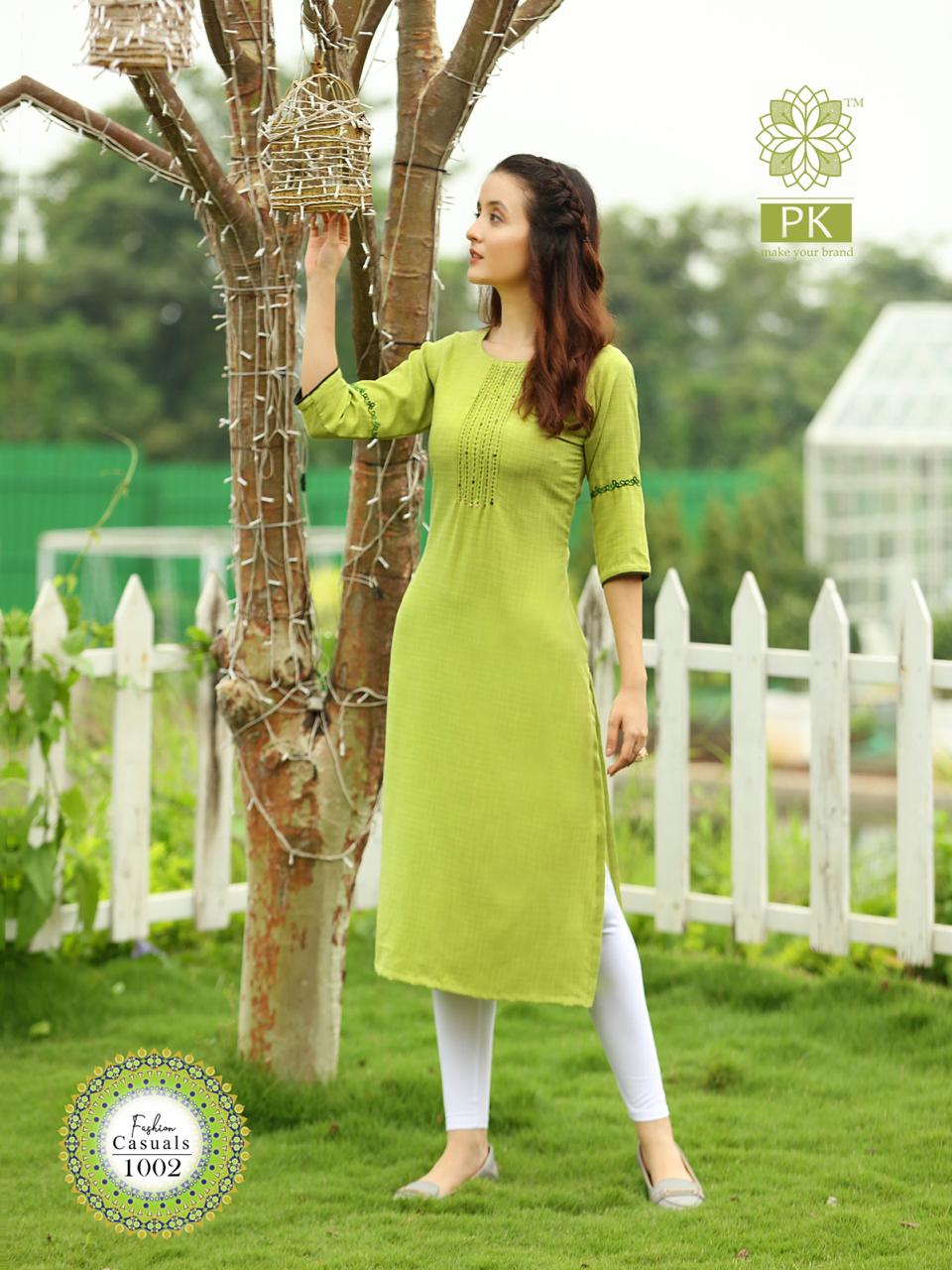 Pk Fashion Casuals Vol 1 Kurti Wholesale Catalog 6 Pcs 6 - Pk Fashion Casuals Vol 1 Kurti Wholesale Catalog 6 Pcs
