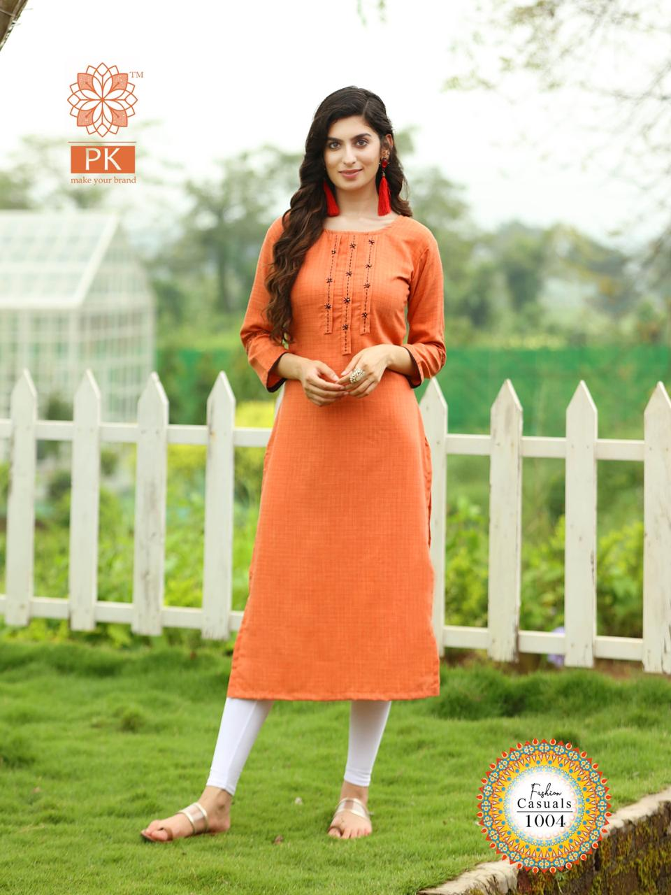 Pk Fashion Casuals Vol 1 Kurti Wholesale Catalog 6 Pcs 7 - Pk Fashion Casuals Vol 1 Kurti Wholesale Catalog 6 Pcs