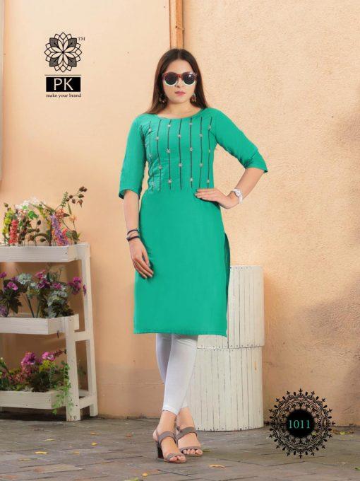 Pk Fashion Rainbow Vol 1 Kurti Wholesale Catalog 21 Pcs 14 510x680 - Pk Fashion Rainbow Vol 1 Kurti Wholesale Catalog 21 Pcs