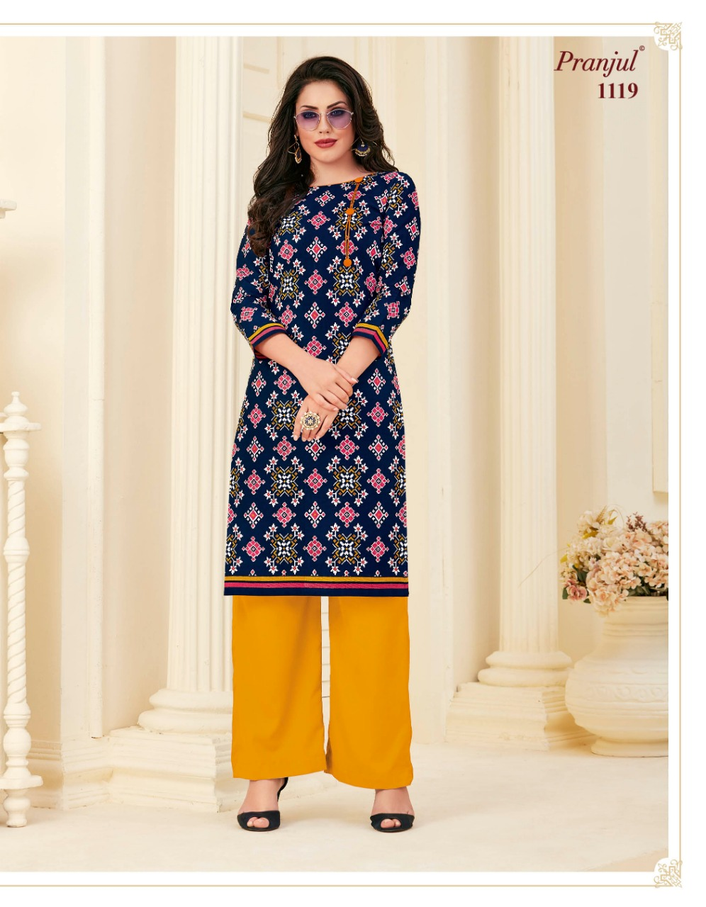 Pranjul Pari Vol 1 Kurti Wholesale Catalog 20 Pcs 1 - Pranjul Pari Vol 1 Kurti Wholesale Catalog 20 Pcs