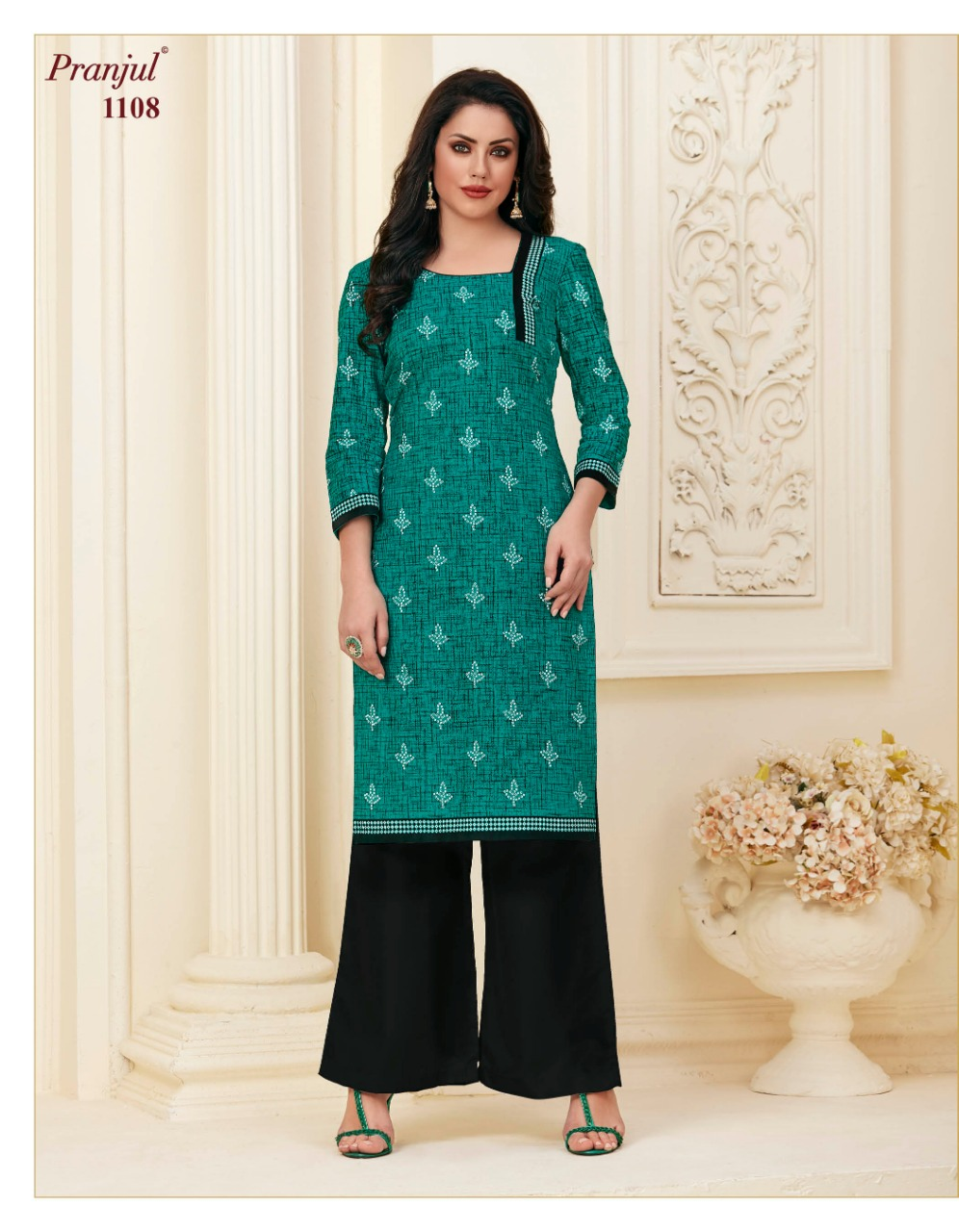 Pranjul Pari Vol 1 Kurti Wholesale Catalog 20 Pcs 10 - Pranjul Pari Vol 1 Kurti Wholesale Catalog 20 Pcs