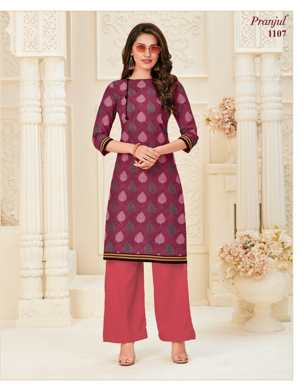 Pranjul Pari Vol 1 Kurti Wholesale Catalog 20 Pcs 14 - Pranjul Pari Vol 1 Kurti Wholesale Catalog 20 Pcs